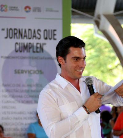 Mantendrá Alcalde empuje a programa de brigadas sociales en Cancún