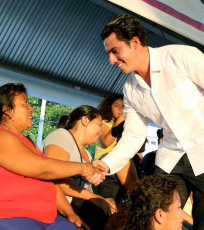 Rescatan espacios públicos como estrategia para erradicar violencia de género en Cancún