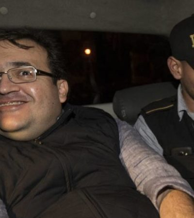 TENÍA DUARTE RED DE PROTECCIÓN EN GUATEMALA: Ex Gobernador no será deportado sino extraditado, aclara PGR