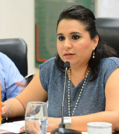 Sistema Anticorrupción será consensuado y avalado por la ciudadanía: Mayuli Martínez