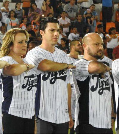 EXPONEN TIGRES A AUTORIDADES: Abuchean a Remberto Estrada en estadio de beisbol; Carlos Joaquín divide opiniones