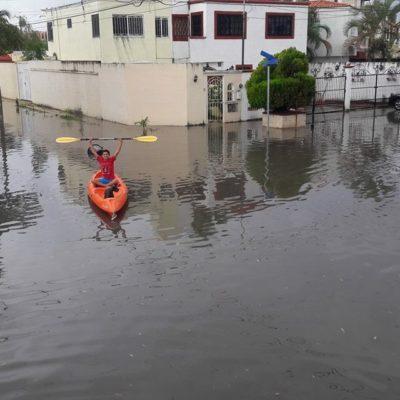 FOTOGALERÍA | CUMPLEAÑOS PASADO POR AGUA: En el 47 aniversario de Cancún, le llueve a la ciudad y se inundan sus calles