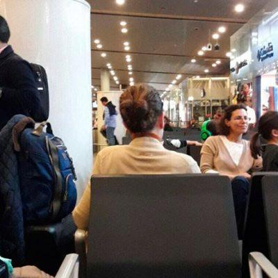 DEJARON 'ESCAPAR' A ESPOSA DE DUARTE: Karime Macías y su familia volaron a Londres