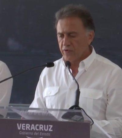 """""""LO LOGRAMOS, SE HARÁ JUSTICIA"""": Se dice Yunes Linares """"orgulloso"""" de la captura de Javier Duarte; """"pagará todo lo que le hizo a Veracruz"""", dice"""