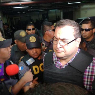 PRISIÓN PREVENTIVA A DUARTE EN GUATEMALA: Tiene México 60 días para solicitar extradición de ex Gobernador de Veracruz