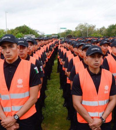 INICIA OPERATIVO DE SEMANA SANTA: Despliegan a 450 cadetes en playas, puerto y aeropuerto para garantizar seguridad