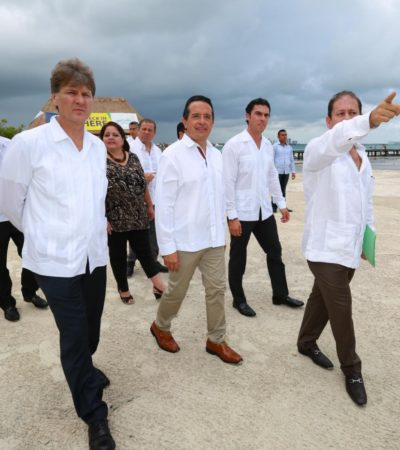 Certifica Cofepris 36 playas de QR con calidad para la recreación