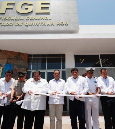 Inaugura Carlos Joaquín el nuevo edificio del Sistema de Justicia Penal Acusatorio en la Fiscalía