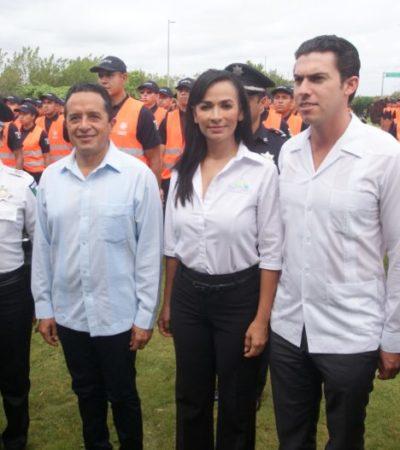 Se suma Puerto Morelos a la estrategia conjunta de seguridad por temporada vacacional