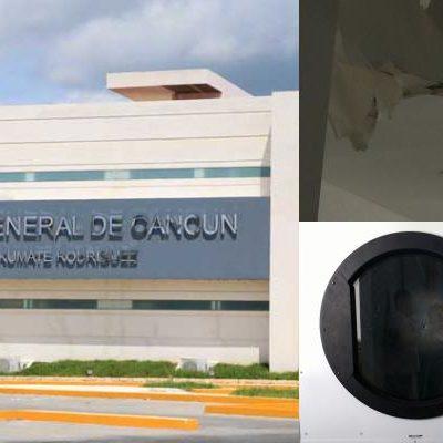 SALEN A LA LUZ DEFICIENCIAS DEL NUEVO HOSPITAL: Fallas estructurales y carencias, a 15 días de su inauguración en Cancún