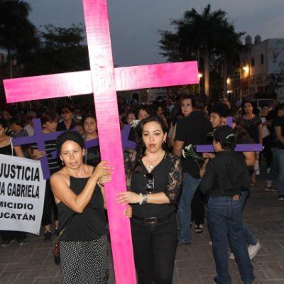 EXIGEN JUSTICIA PARA EMMA GABRIELA: Marchan cientos en Mérida contra el feminicidio