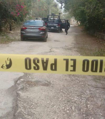 SIGUE EL DOMINGO ROJO EN CANCÚN: Hallan a embolsado en la colonia irregular Santa Anita