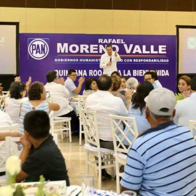 Da conferencia Rafael Moreno Valle… en Chetumal