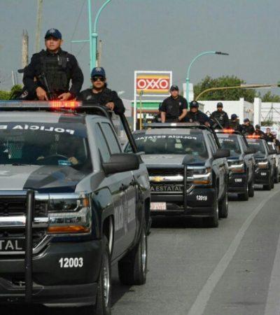 Dan el banderazo de inicio del operativo especial de vigilancia por Semana Santa en el sur de Quintana Roo