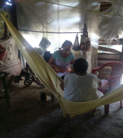 Concluyen encuestas a potenciales beneficiarios del Programa de Vivienda Rural e Indígena