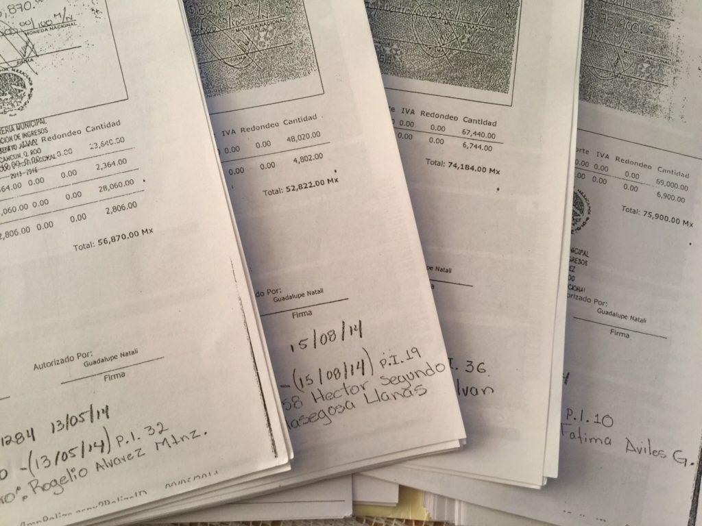 SUMAN OTRA MANCHA AL TIGRE DE LA CORRUPCIÓN EN CANCÚN: Aparecen más evidencias de fraude al erario en el gobierno de Paul con la entrega de recibos apócrifos en el pago del ISABI