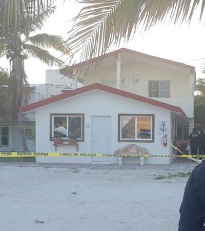 INTENTO DE EJECUCIÓN EN PUERTO MORELOS: Disparan contra mesero en zona de playas, pero logra escapar