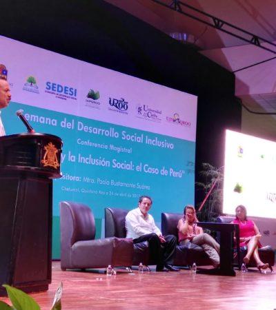 Inicia Semana del Desarrollo Social Inclusivo