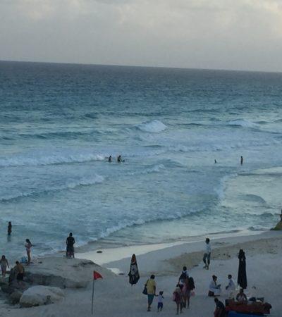 Prevé Sedetur temporada de mayor arribo de sargazo a las playas de Quintana Roo