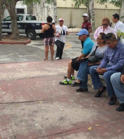 POLICÍAS DE CANCÚN RECLAMAN ATENCIÓN: Piden agentes verdadero diálogo y respuesta a demandas