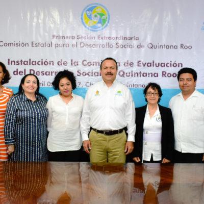 Se instala órgano colegiado que evaluará el combate a la pobreza en Quintana Roo