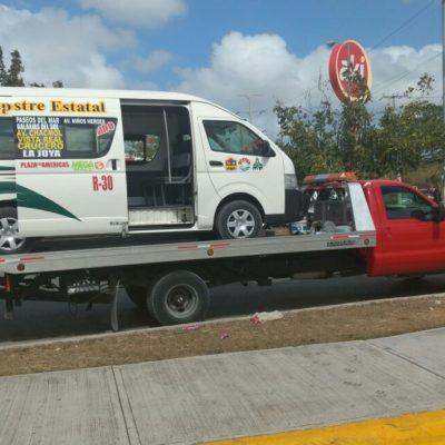 Infraccionan a 7 unidades por aumento no autorizado del transporte público en Cancún