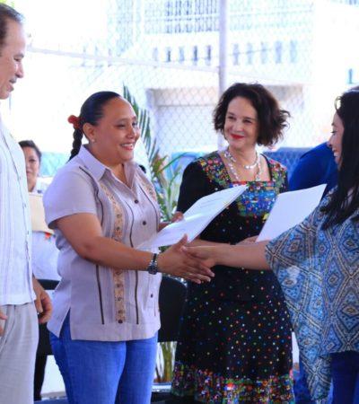 Inician programa de regularización de lotes entre vecinos de la colonia Colosio de Playa del Carmen