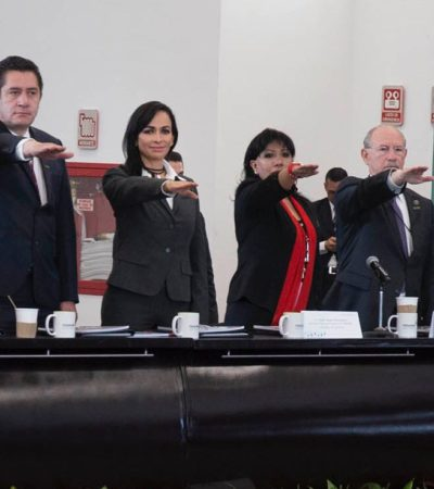 Dan a Alcaldesa de Puerto Morelos cargo directivo en la Federación Nacional de Municipios de México
