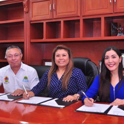 Suscriben convenio para procurar instalaciones educativas óptimas en Tulum