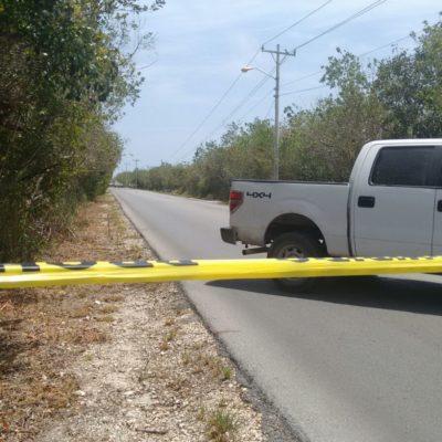 Aún indagan incidente del baleado en Puerto Morelos durante la visita de Osorio Chong