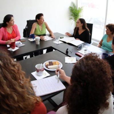 Se reúnen legisladoras con integrantes del Consejo Estatal de Mujeres de Quintana Roo para presentar avances en materia de igualdad de género
