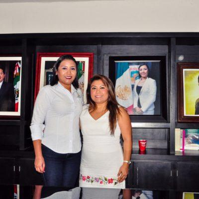 Logran alcaldesas acuerdo inicial para incorporar poblados de FCP a Tulum