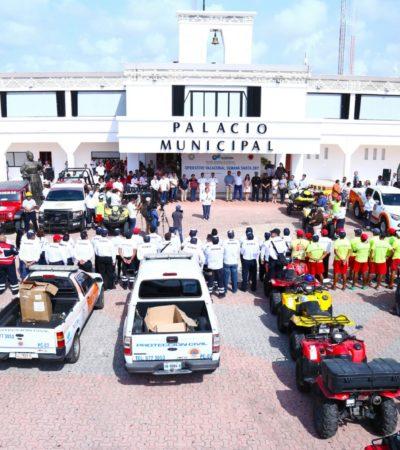 También en Solidaridad arranca el operativo especial de vigilancia para recibir a vacacionistas