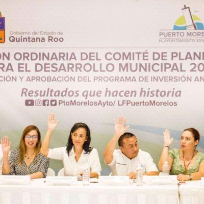 Aprueban presupuesto de 160 mdp para obras en Puerto Morelos