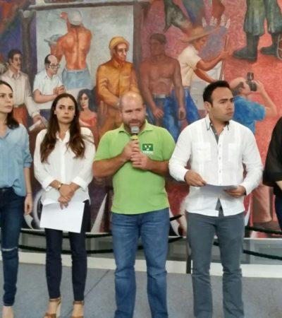 RECHAZAN 'VERDES' AUDITORÍAS Y DELFINARIOS: Fija bancada postura sobre dos temas controversiales en el Congreso