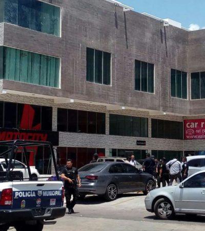 EJECUTAN A UN HOMBRE EN 'PASEO KABAH': Disparan contra presunto 'tirador' en el interior de un gimnasio en Cancún