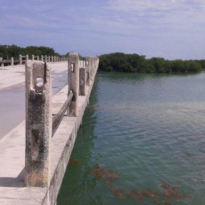 Revisan autoridades condiciones del camino de acceso a Punta Allen y Puente de Boca Paila