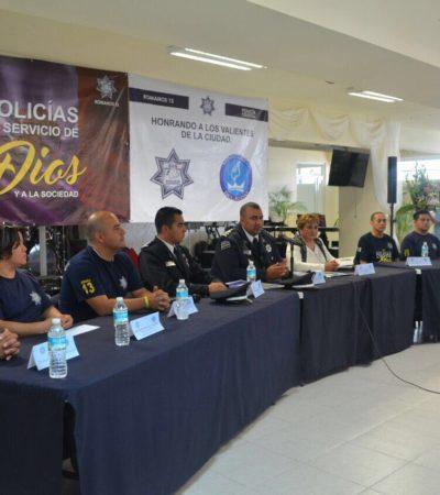 LLEGA LA 'POLICÍA CELESTIAL' A CANCÚN: Elementos de la llamada 'Policía al Servicio de Dios y de la Sociedad' impulsan una óptica religiosa en el servicio público