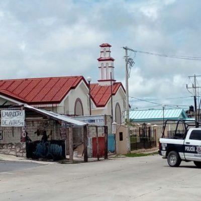 BALEAN A HOMBRE EN LAVADERO DE AUTOS: Sicarios intentan ejecución en negocio de la Región 239 de Cancún