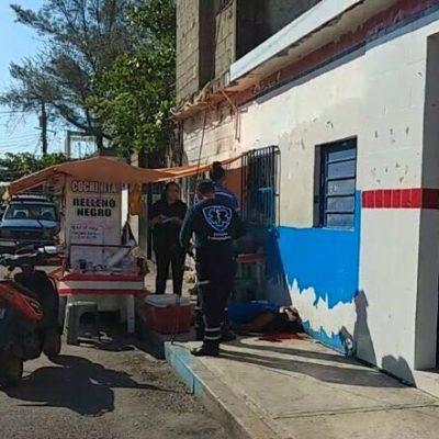 EJECUTAN A UN HOMBRE EN LA COLOSIO: Matan a balazos a un sujeto en la populosa colonia de Playa del Carmen