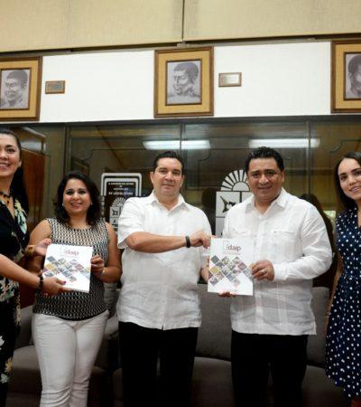 Recibe Congreso informe anual del Instituto de Transparencia