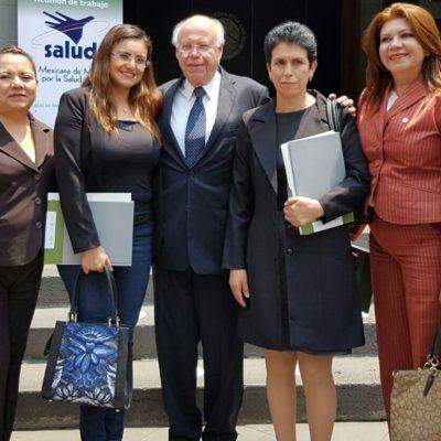 Participa Alcaldesa Cristina Torres en la Semana de Vacunación de las Américas en la CDMX