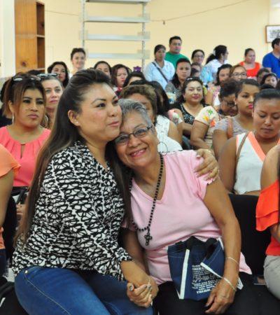 En el 'Día Naranja', llama 'Romi' a desterrar la violencia contra las mujeres