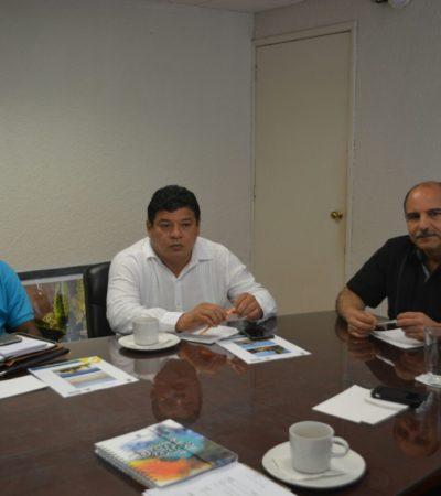 Se reúne Alcalde de OPB con titular de Sintra para agendar atención a los problemas de infraestructura de la capital de QR