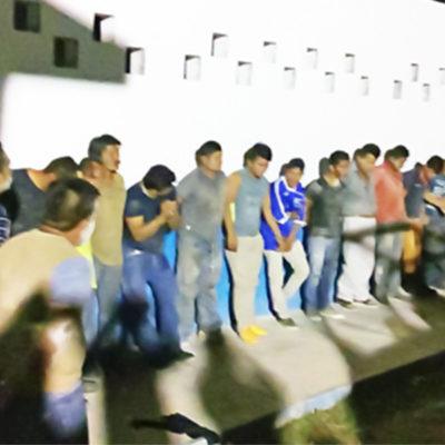 DISPUTAN TERRENO COSTERO A BALAZOS: Detienen a 21 personas por enfrentamiento en la Zona Hotelera de Tulum