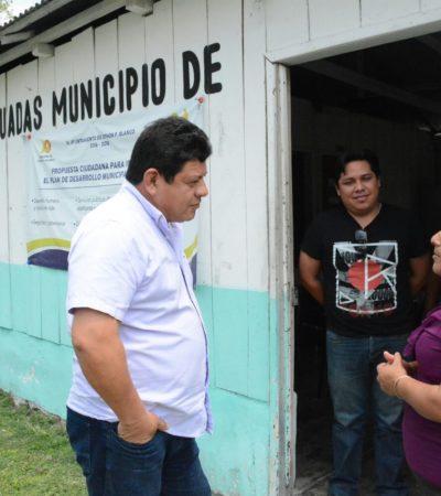 Entrega Alcalde Luis Torres equipo de cómputo y mobiliario