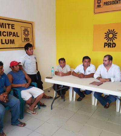 Instala PRD comité municipal en Tulum