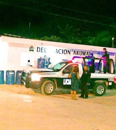 BATALLA CAMPAL EN AKUMAL: Enfrentamiento entre borrachos durante festejos del pueblo deja heridos y ningún detenido