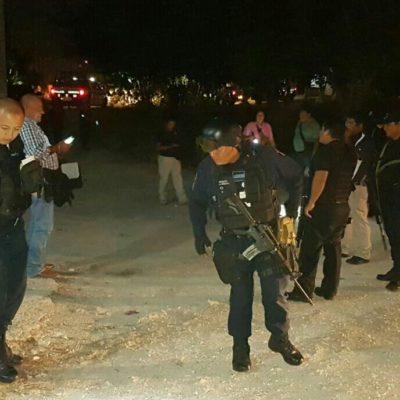 REPORTAN DETONACIONES EN LA REGIÓN 201: No hay lesionados en confuso incidente en Cancún