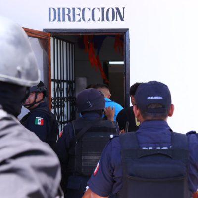 Tras amotinamiento, dice Alcaldesa que se endurecerán controles en la cárcel de Playa del Carmen